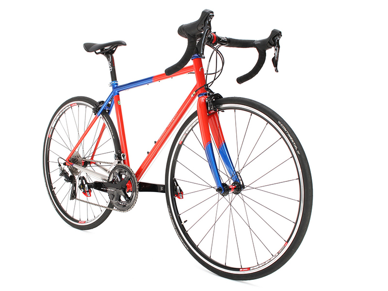 Road Bike Inox Columbus Xcr